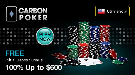 200% Carbon Poker bonus oofer