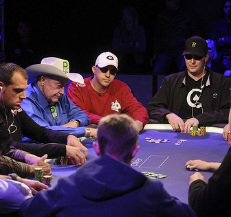 $10,000 No Limit Holdem Main Event Day 2, World Series of Poker Europe presented by Betfair- at the Empire Casino, London