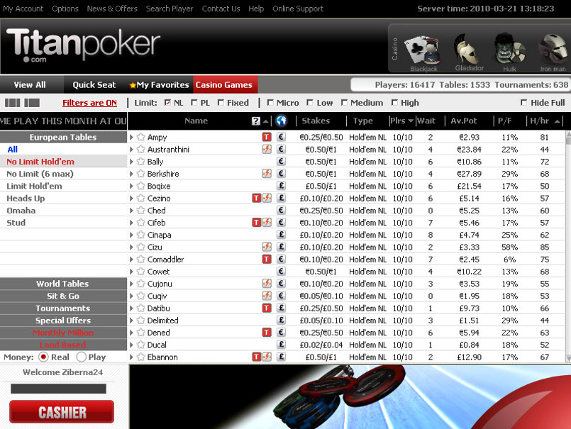 Winamax poker pc